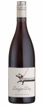 A bottle of Longue-Dog Syrah