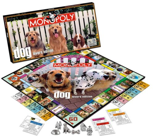 The Dog On The Monopoly Board Doggymom Com