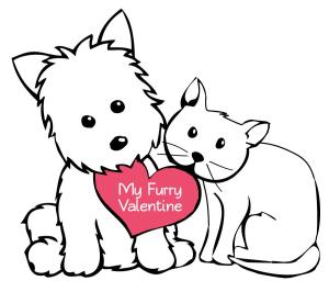 My furry valentine