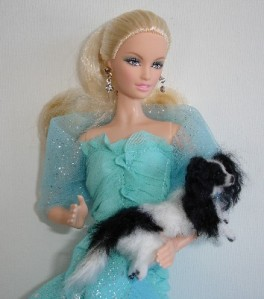 Barbie with Papillon