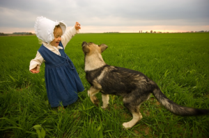 A new CU study indicates parents are more likely to share bacteria with their dogs than their kids,  a finding with biomedical implications. Photo courtesy Natural Resources Conservation Services