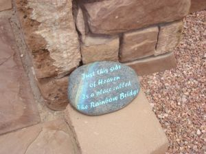 Saying stone