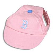 Pink dog cap