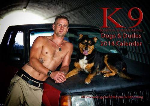 K9 Rescue and Rehoming calendar