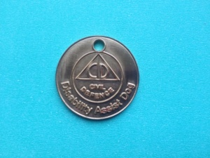 Disability Assist Dog identification tag