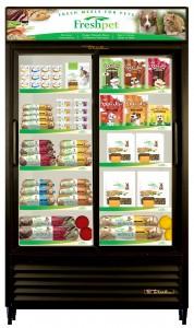 Freshpet display cabinet