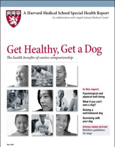 Get Healthy, Get a Dog