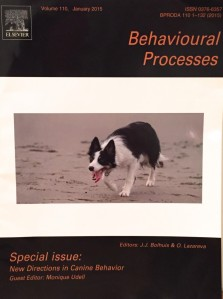 New directions in canine behavior