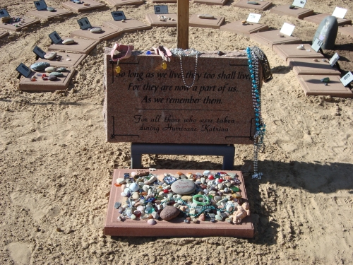 The Hurricane Katrina Memorial at Angel's Rest, Kanab, Utah