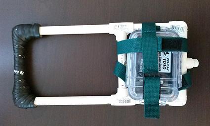 High tech dog harness