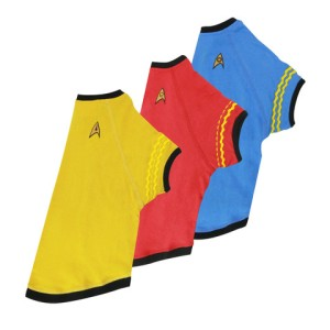 Star Trek uniforms for dogs