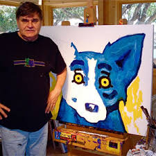george-rodrigue-with-blue-dog