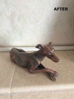 greyhound-bronze-after