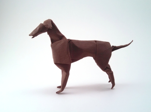 Greyhound origami by John Montroll