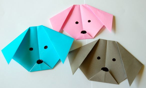 How to Make an Origami Dog - Easy Peasy and Fun | 352x584