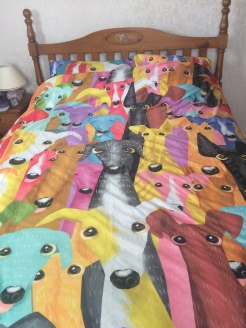 Greyhound duvet cover