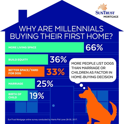 Harris Poll on behalf of SunTrust Mortgage Infographic